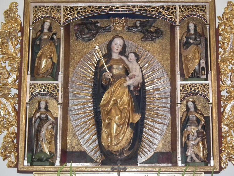 Znalezione obrazy dla zapytania ołtarz w krotoszycach